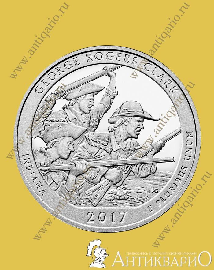 40 парк сша монета 50 коп 2010 года цена