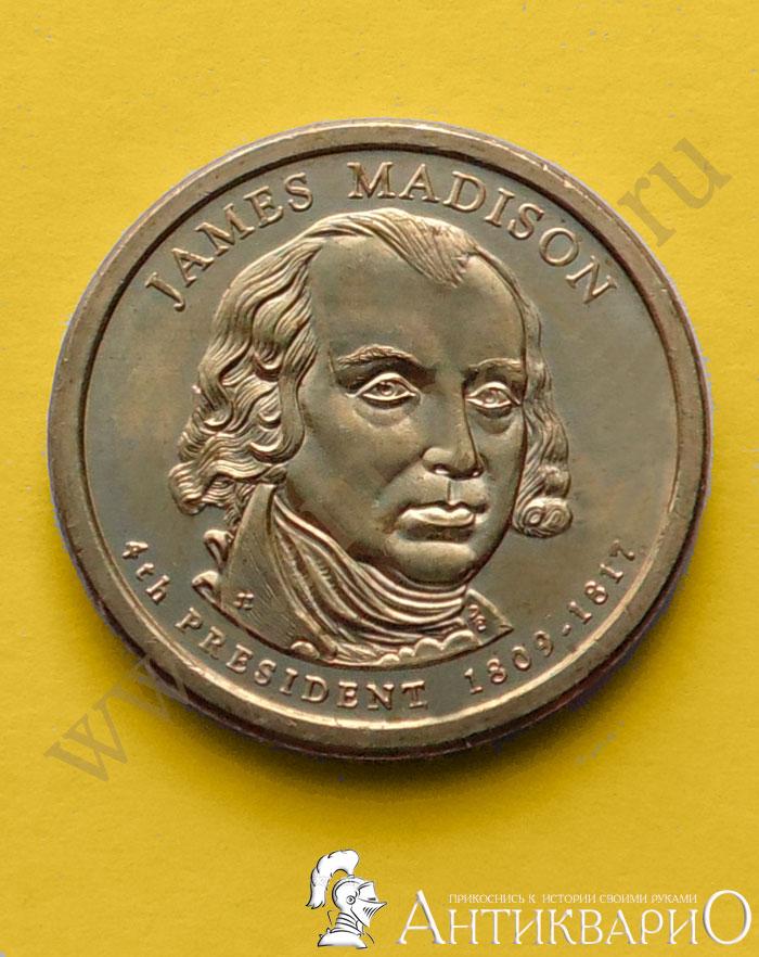 1 долларовые монеты президенты сша one pound монета цена египет