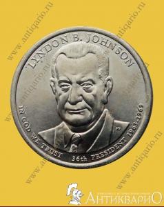 Монеты с президентами америки